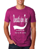 NEW CASTLE UPON TYNE Probably The Best Mens T Shirts White-Gildan-Daataadirect.co.uk