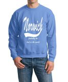 NORWICH Probably The Best City In The World Mens SweatShirt White-Gildan-Daataadirect.co.uk