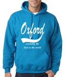 OXFORD Probably The Best Mens Hoodies White-Gildan-Daataadirect.co.uk