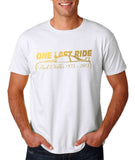 Paul Walker One Last Ride Gold Mens T Shirt-Gildan-Daataadirect.co.uk