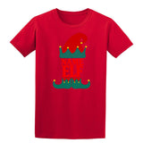 Christmas Personalized Elf Name     Mens T-Shirt Dark Heather 3XL Daataadirect
