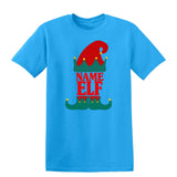 Christmas Personalized Elf Name     Mens T-Shirt Black 3XL Daataadirect