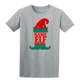 Christmas Personalized Elf Name Mens T-Shirt-Gildan-Daataadirect.co.uk