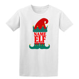 Christmas Personalized Elf Name     Mens T-Shirt   Daataadirect