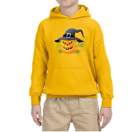 Pumpkin Kids Hoodies-Gildan-Daataadirect.co.uk