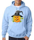 Pumpkin Mens Hoodies-Gildan-Daataadirect.co.uk