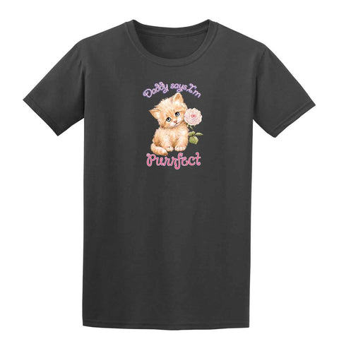 Purrfect 20443HD6 Mens T Shirt-Gildan-Daataadirect.co.uk