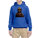 Scary Doll Kids Hoodies-Gildan-Daataadirect.co.uk