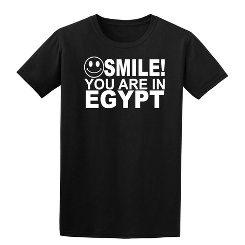 Smile you are in Egypt Kids T-Shirt-Gildan-Daataadirect.co.uk