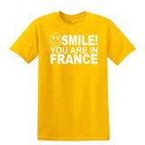 Smile you are in France Kids T-Shirt-Gildan-Daataadirect.co.uk