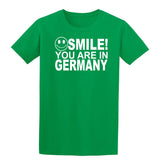 Smile you are in Germany Kids T-Shirt-Gildan-Daataadirect.co.uk