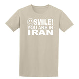 Smile you are in Iran Kids T-Shirt-Gildan-Daataadirect.co.uk