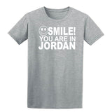 Smile you are in Jordan Kids T-Shirt-Gildan-Daataadirect.co.uk