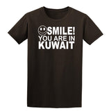 Smile you are in Kuwait Kids T-Shirt-Gildan-Daataadirect.co.uk
