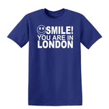 Smile you are in London Kids T-Shirt-Gildan-Daataadirect.co.uk