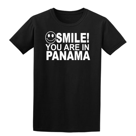 Smile You Are In Panama Kids T-Shirt-Gildan-Daataadirect.co.uk
