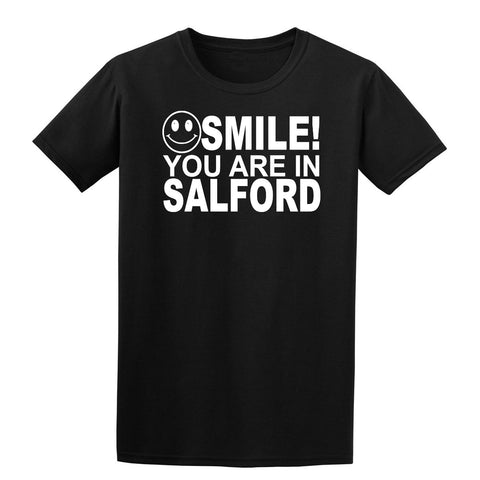 Smile You Are In Salford Kids T-Shirt-Gildan-Daataadirect.co.uk