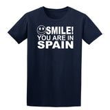 Smile You Are In Spain Kids T-Shirt-Gildan-Daataadirect.co.uk