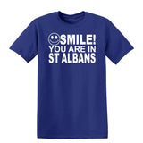 Smile You Are In St Albans Kids T-Shirt-Gildan-Daataadirect.co.uk