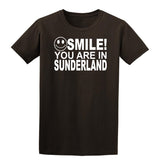 Smile You Are In Sunderland Kids T-Shirt-Gildan-Daataadirect.co.uk