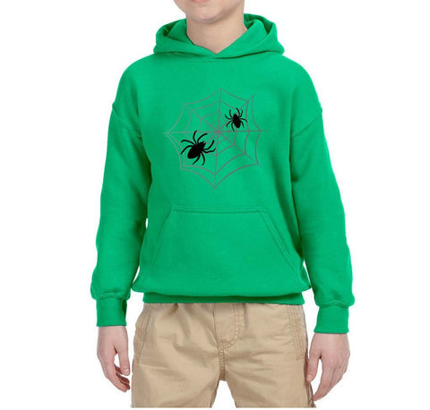 Spider Kids Hoodies-Gildan-Daataadirect.co.uk