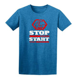 Stop Wishing Start Doing Mens T Shirts-Gildan-Daataadirect.co.uk