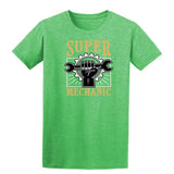 Super Mechanic Mens T Shirts-Gildan-Daataadirect.co.uk