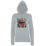 Surf Wagon Women Hoodies-AWD-Daataadirect.co.uk