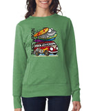 Surf Wagon Women SweatShirts-Anvil-Daataadirect.co.uk