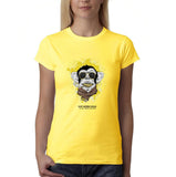 Swag Monkey More Gold More Bitches Women T Shirts-Gildan-Daataadirect.co.uk
