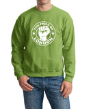 The Pride Of LONDON Men Sweat Shirts White-Gildan-Daataadirect.co.uk
