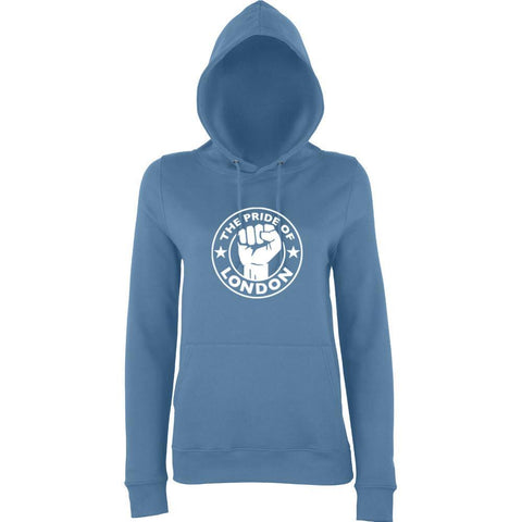 The Pride Of LONDON Women Hoodies White-AWD-Daataadirect.co.uk