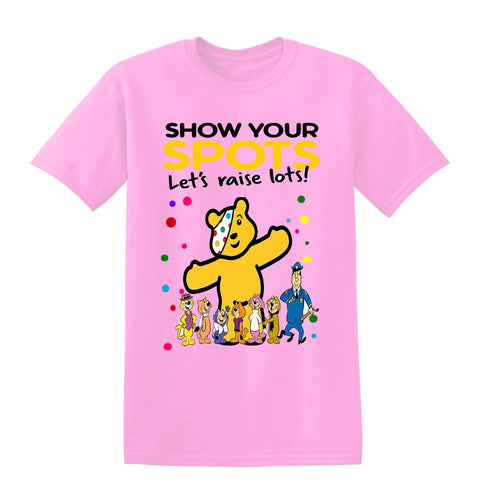 Top Cat Spotty Day Children In Need Kids T-Shirt-t-shirts-Gildan-Colour-Size-Daataadirect