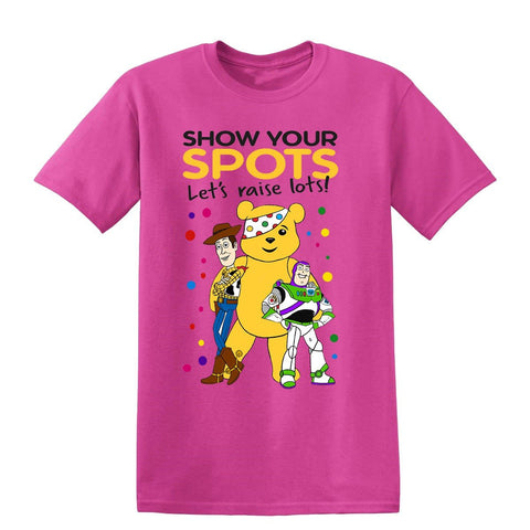 Toy Story Toy Story Children In need Toy Story Kids T-Shirt-t-shirts-Gildan-Colour-Size-Daataadirect