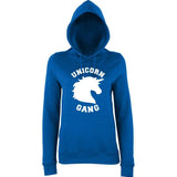 UNICORN gang Women Hoodies White-AWD-Daataadirect.co.uk