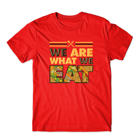 We Are What We Eat Food Quote T-Shirt-Gildan-Daataadirect.co.uk
