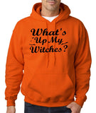What's up my witches Mens Hoodies Black-Gildan-Daataadirect.co.uk