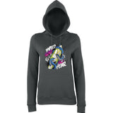 Wild Surf No Fear Women Hoodies-AWD-Daataadirect.co.uk