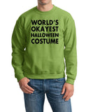 World's Okayest Halloween costume Mens Sweatshirt Black-Gildan-Daataadirect.co.uk