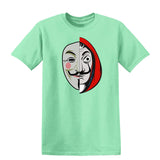 La Casa De Papel VS Zorgo Mask T-Shirt-Gildan-Daataadirect.co.uk