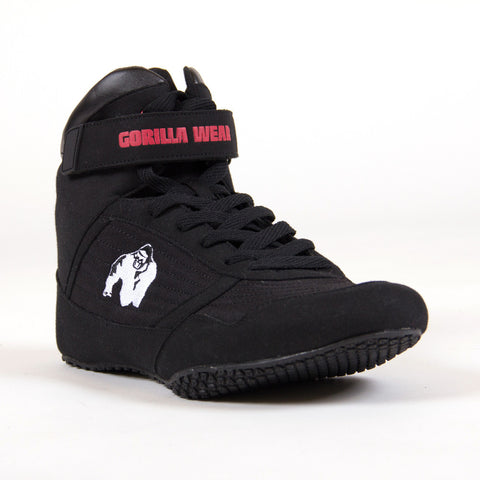 Gorilla Wear High Tops - Black - Gorilla Wear SA Gorilla Wear SA - Gorilla Wear South Africa