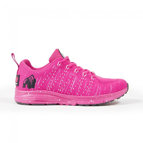 Brooklyn Knitted Sneakers - Pink - Gorilla Wear South Africa
