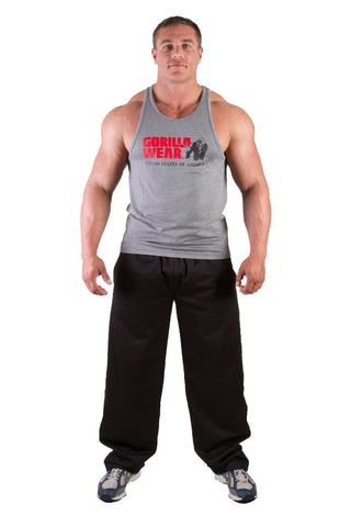 Classic Tank Top - Grey - Gorilla Wear SA Gorilla Wear SA - Gorilla Wear South Africa