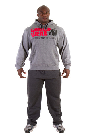 Classic Hooded Top - Grey Melange - Gorilla Wear SA Gorilla Wear SA - Gorilla Wear South Africa