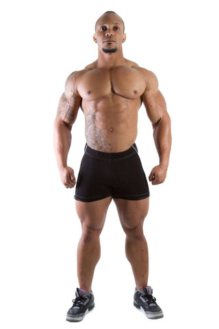 Hotpant Heavy Shorts for Men - Black - Gorilla Wear South Africa