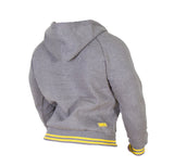 Premium Hooded Jacket - Grey Melange - Gorilla Wear SA Gorilla Wear SA - Gorilla Wear South Africa