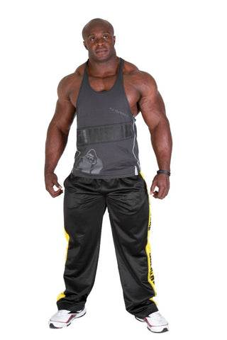 G!WEAR Stringer Tank Top - Gray - Gorilla Wear SA Gorilla Wear SA - Gorilla Wear South Africa