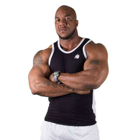 Stretch Tank Top - Black - Gorilla Wear SA Gorilla Wear SA - Gorilla Wear South Africa