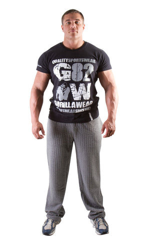 82 Tee - Black - Gorilla Wear SA Gorilla Wear SA - Gorilla Wear South Africa