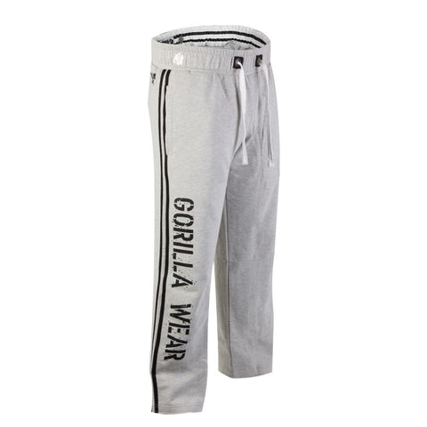 2 Stripe Sweat Pants - Gray - Gorilla Wear SA Gorilla Wear SA - Gorilla Wear South Africa
